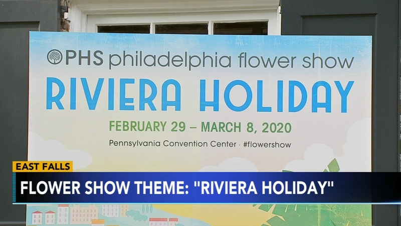 2020 Philadelphia Flower Show.Philly Flower Show Gets A Theme