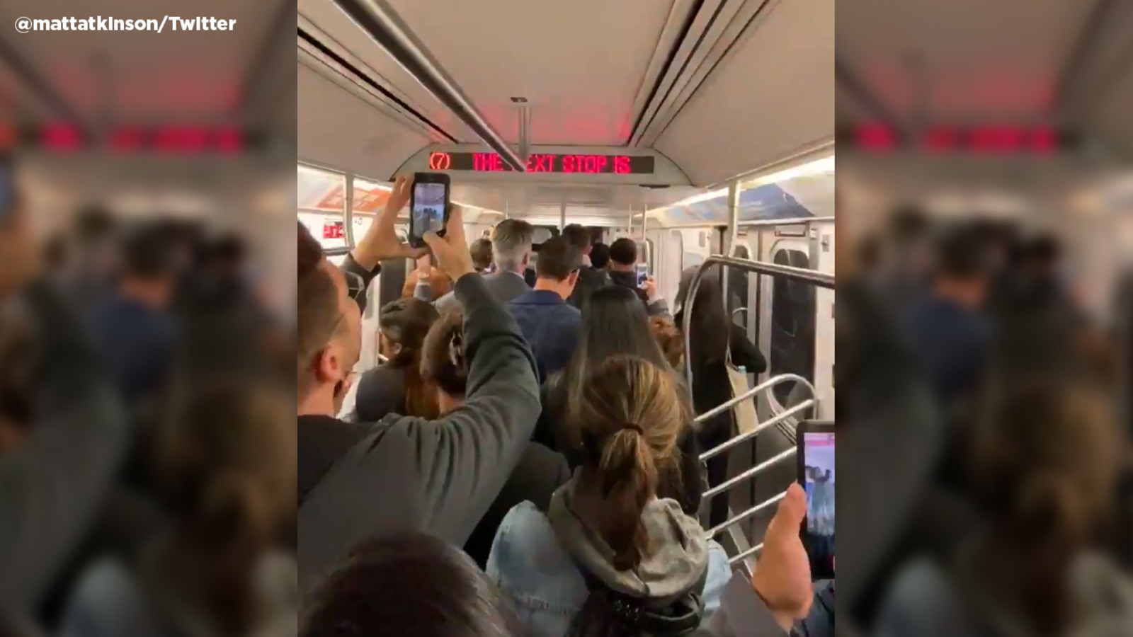 Most 7 train service suspended in Manhattan, Queens after person struck in tunnel