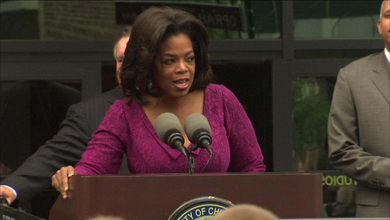 oprah chicago