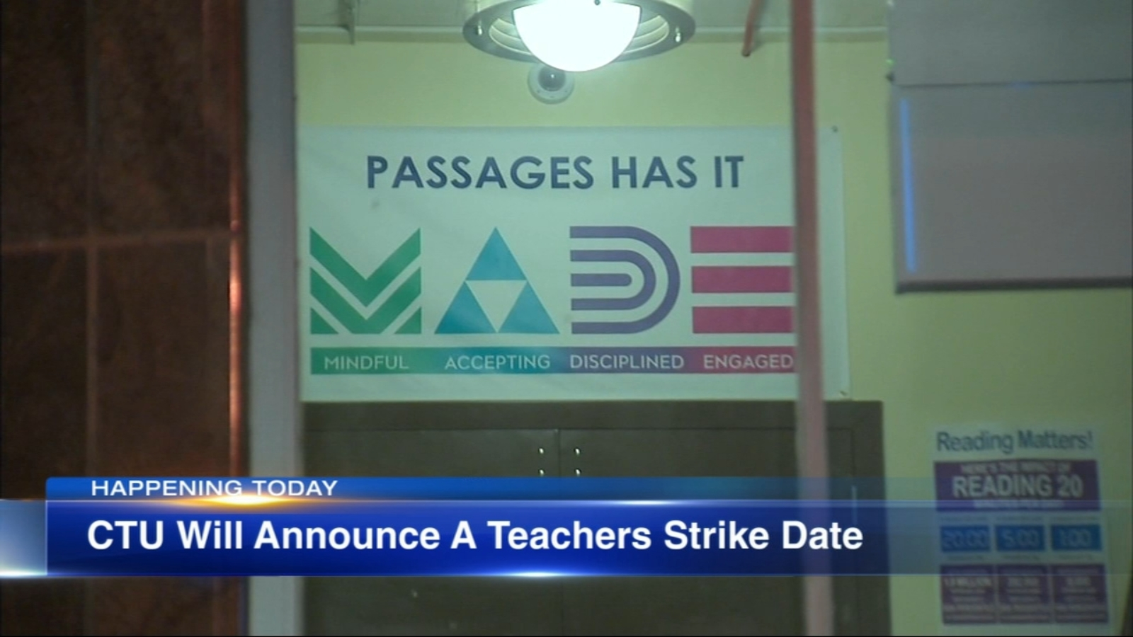 Chicago Teachers Union joins Passages Charter School to announce strike date