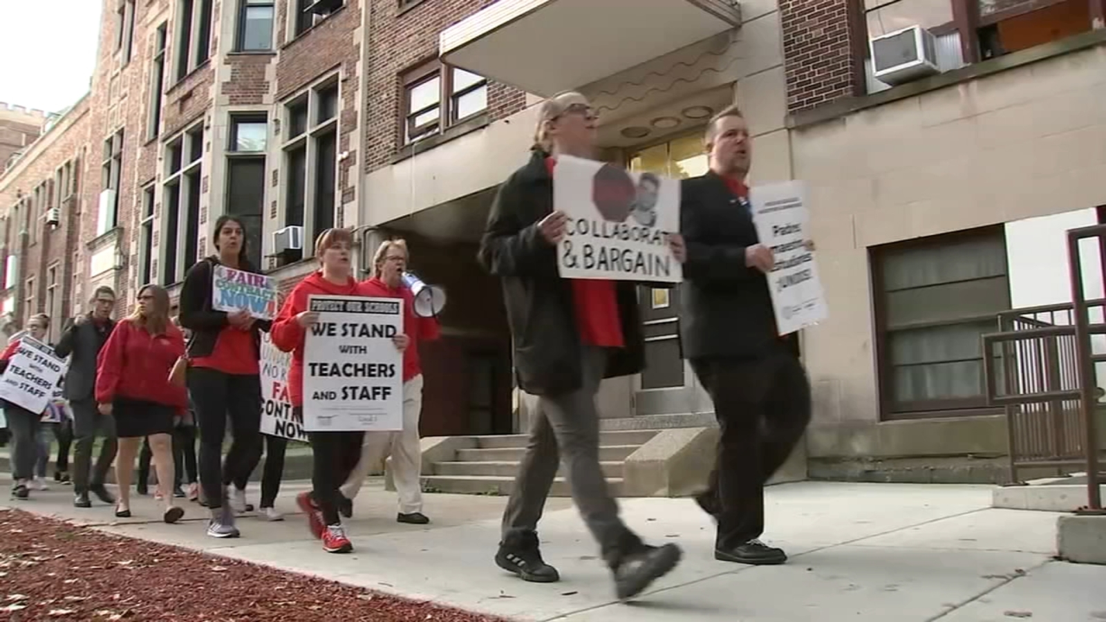 Edgewater charter school announces strike dates as CPS strike looms