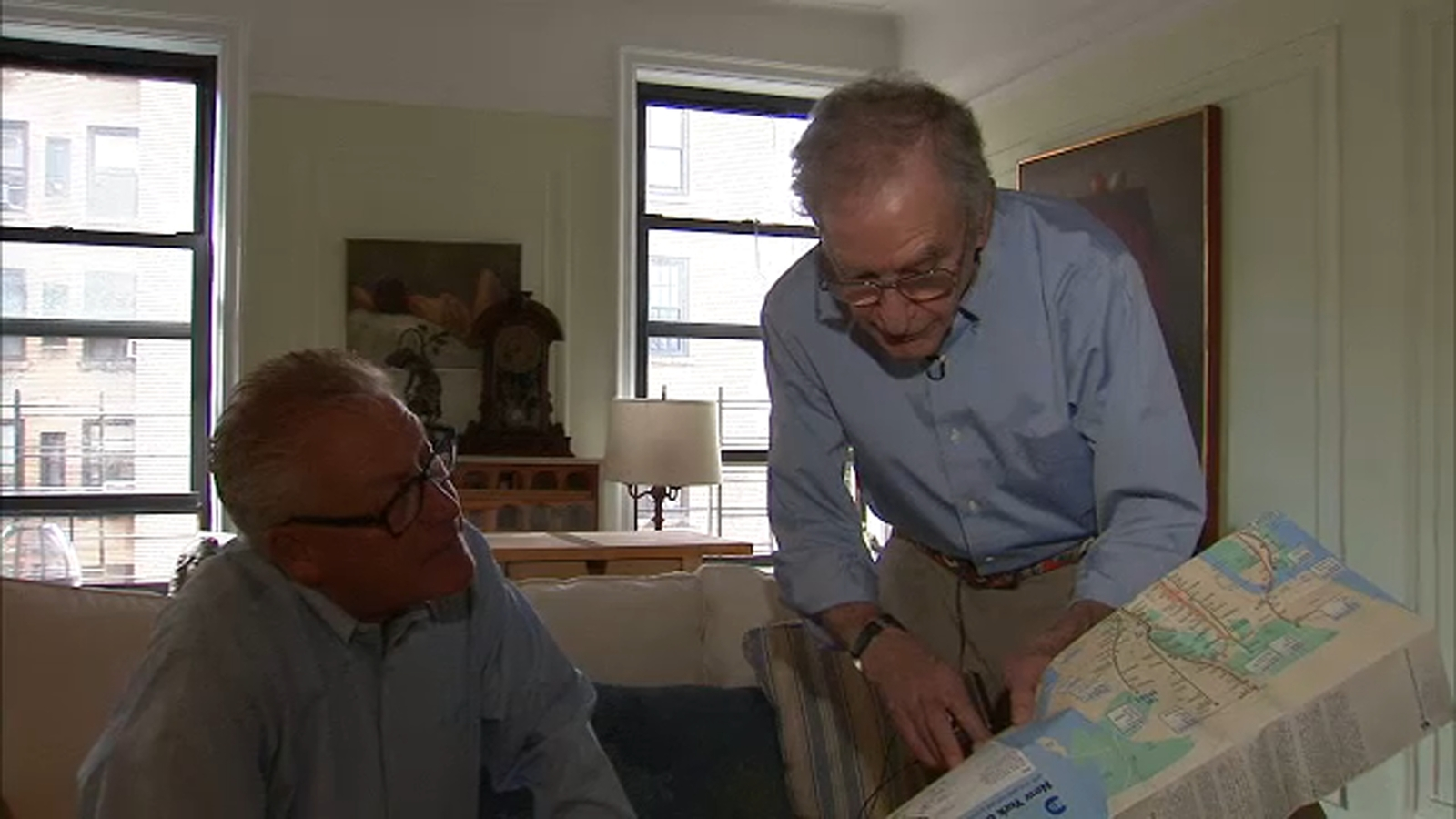 Man hoping to change direction of New York City subway maps