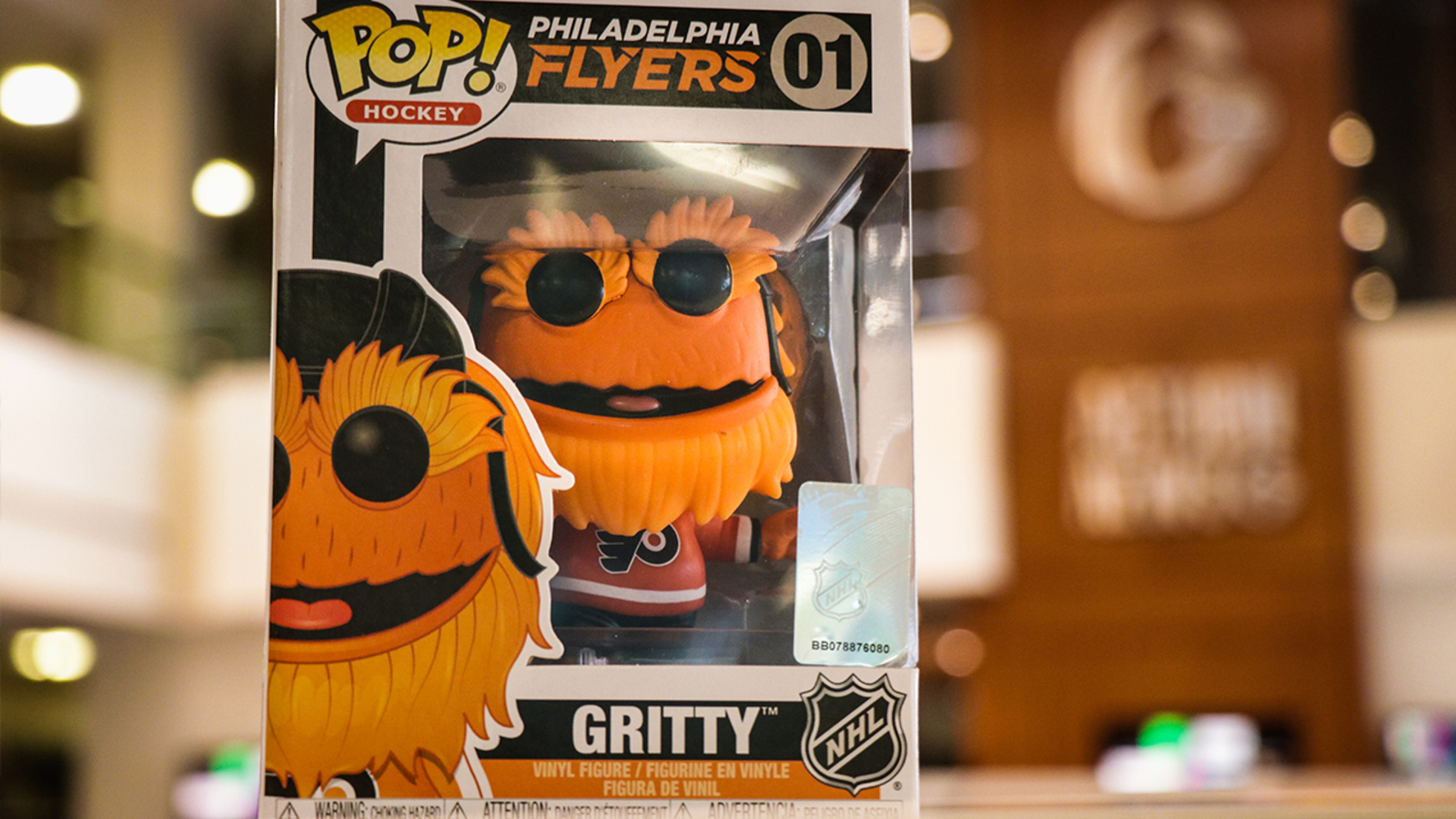 Gritty vinyl figure joins Funko POP! Collection!