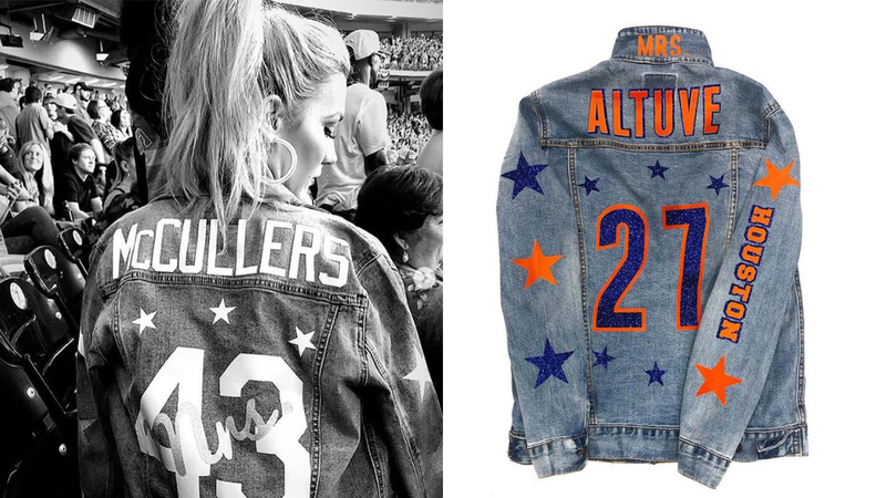 How To Get Your Own Custom Astros Jean Jacket
