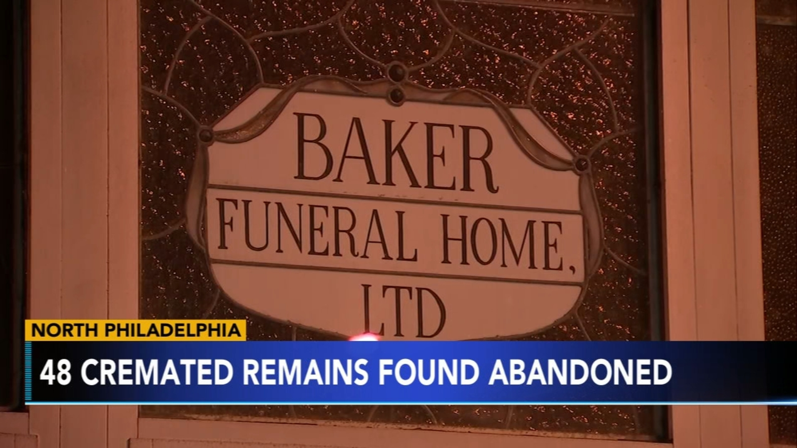 48 cremated remains found at vacant North Philadelphia funeral home