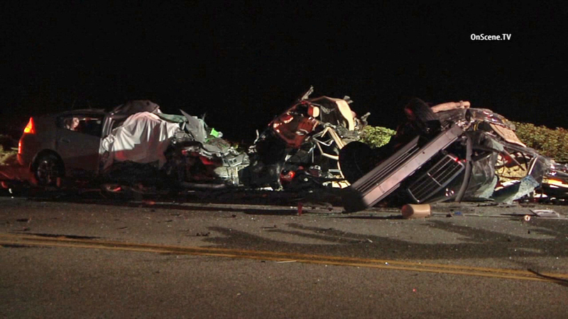 3 killed in violent head-on crash on PCH in Point Mugu