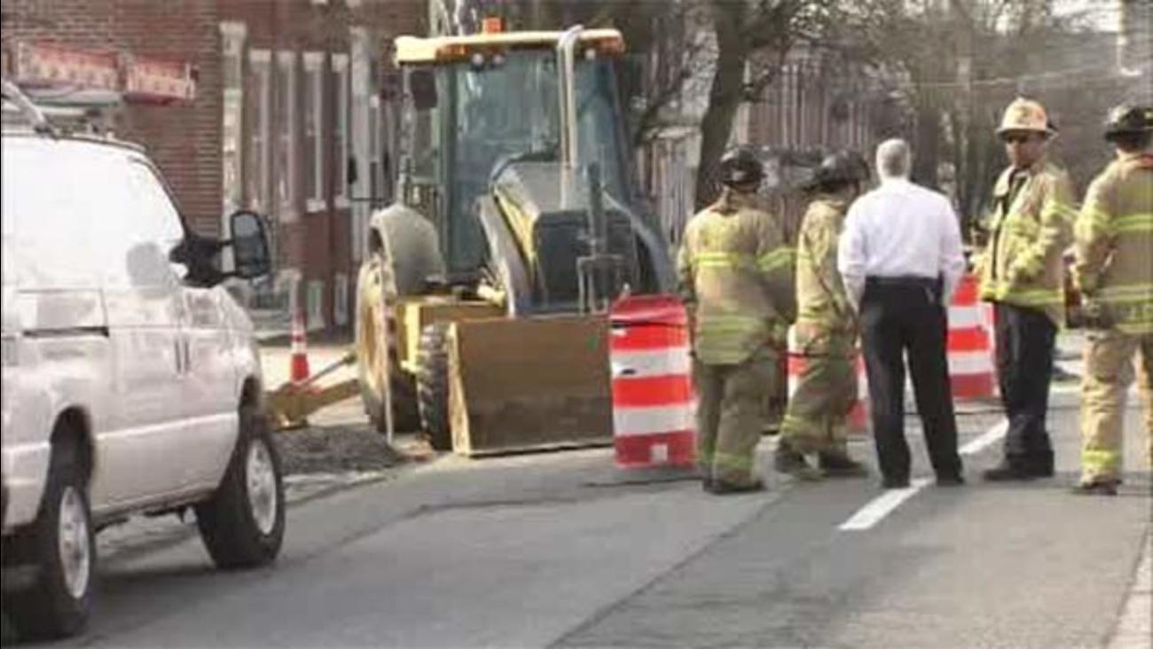 Work crew ruptures gas main in Wilmington