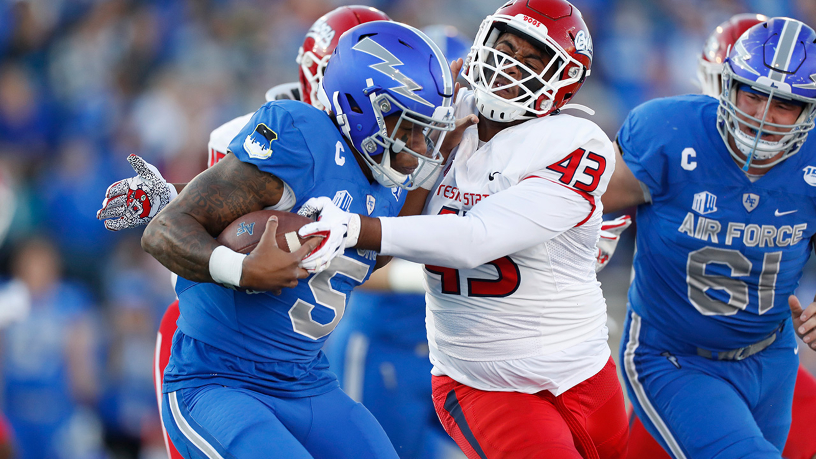 Fresno State loses conference opener to Air Force, 43-24