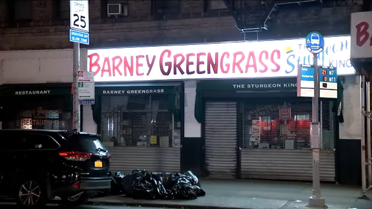 Famed Upper West Side Deli Barney Greengrass Remains Closed