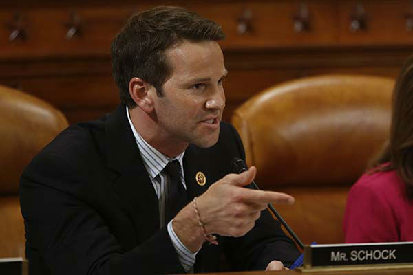 """<div class=""""meta image-caption""""><div class=""""origin-logo origin-image none""""><span>none</span></div><span class=""""caption-text"""">Rep. Aaron Schock, R-Ill., questions organizations that say they were unfairly targeted by the IRS at a hearing on Capitol Hill in Washington, Tuesday, June 4, 2013. (AP Photo/ Charles Dharapak)</span></div>"""