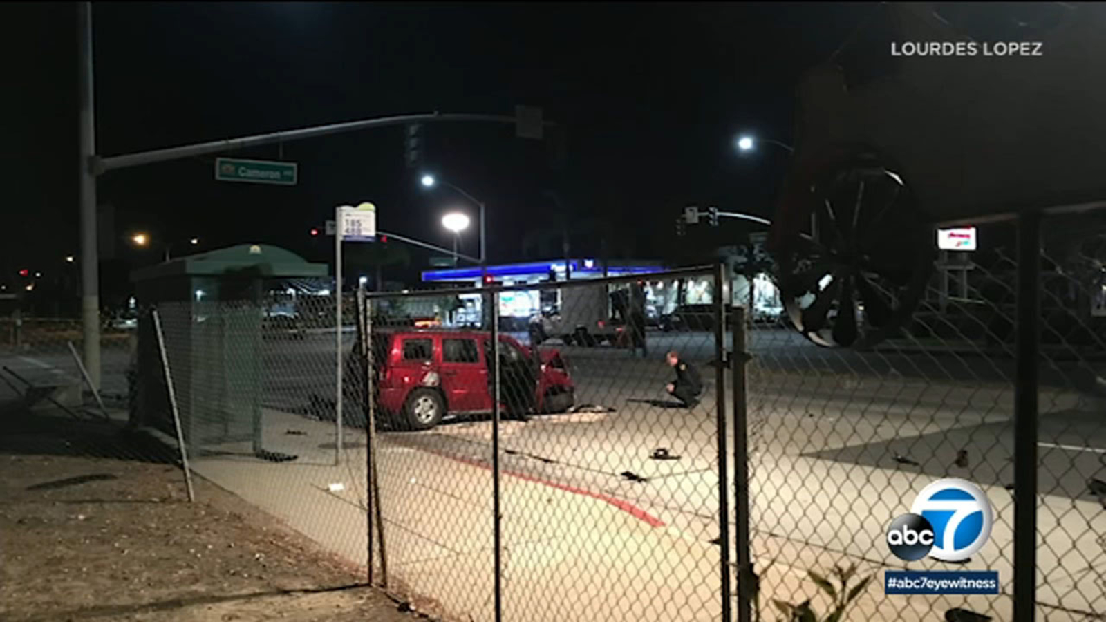 13-year-old boy fighting for life after West Covina chase ends in crash, killing his parents