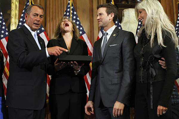 """<div class=""""meta image-caption""""><div class=""""origin-logo origin-image none""""><span>none</span></div><span class=""""caption-text"""">House Speaker John Boehner of Ohio participates in a ceremonial House swearing-in ceremony for Rep. Aaron Schock, R-Ill., on Capitol Hill in Washington, Wednesday, Jan. 5, 2011. (AP Photo/ Jacquelyn Martin)</span></div>"""