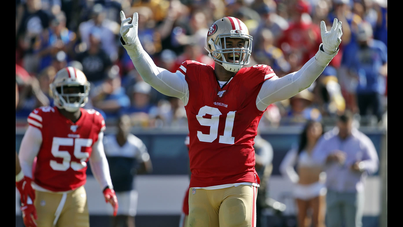 49ers Beat Division Rival Rams On The Road To Improve To 5 0