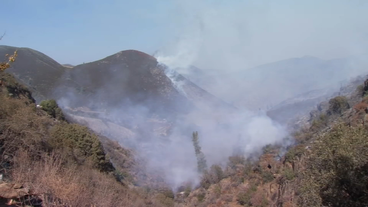 Briceburg Fire: 5,563 acres, 95 percent contained