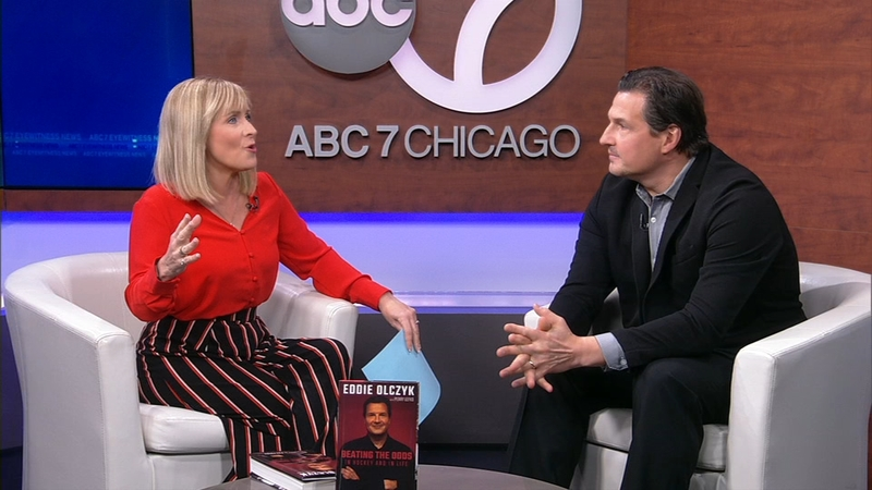 Eddie Olczyk Talks New Book Beating The Odds In Hockey And In Life Abc7 Chicago
