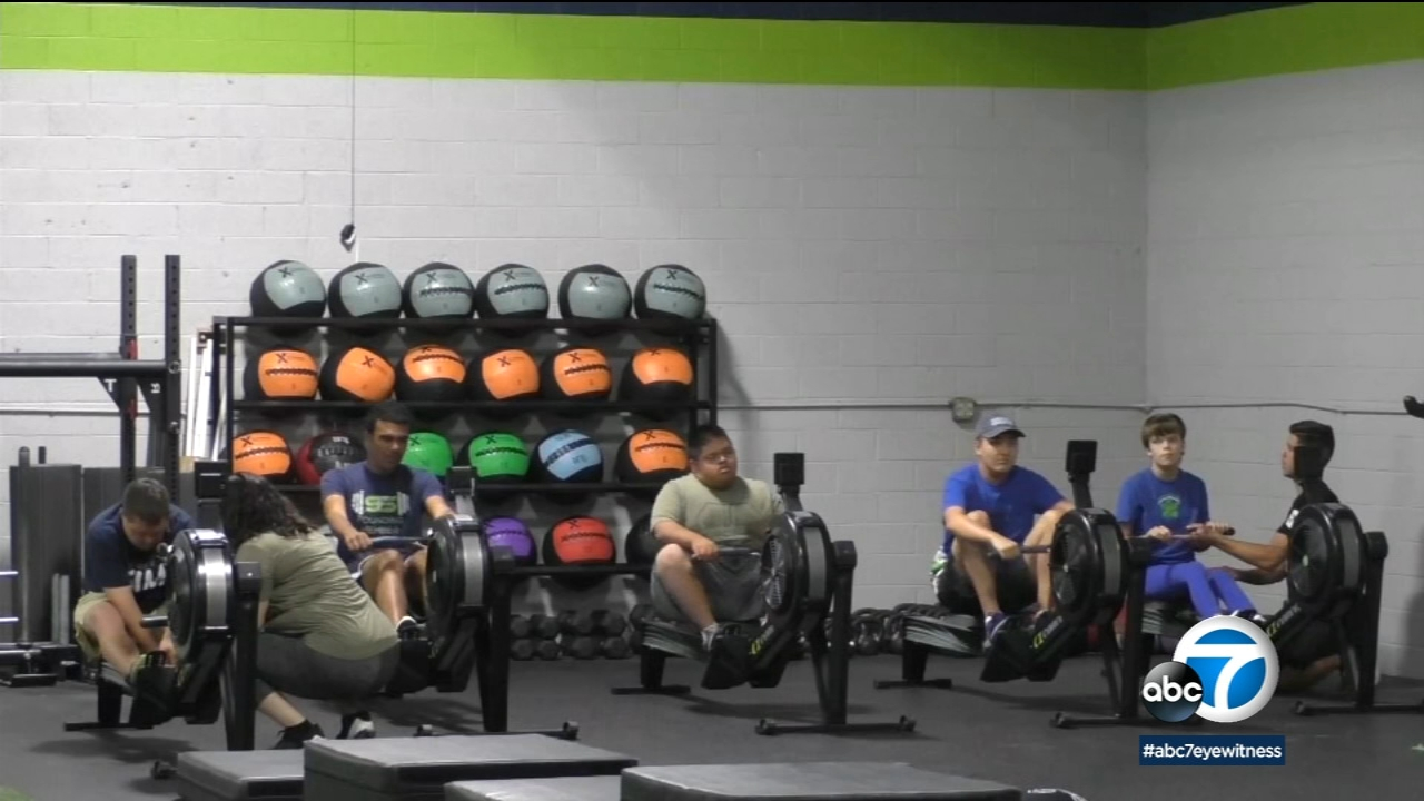 Chatsworth gym for special needs kids, teens helps families learn fitness, coping skills