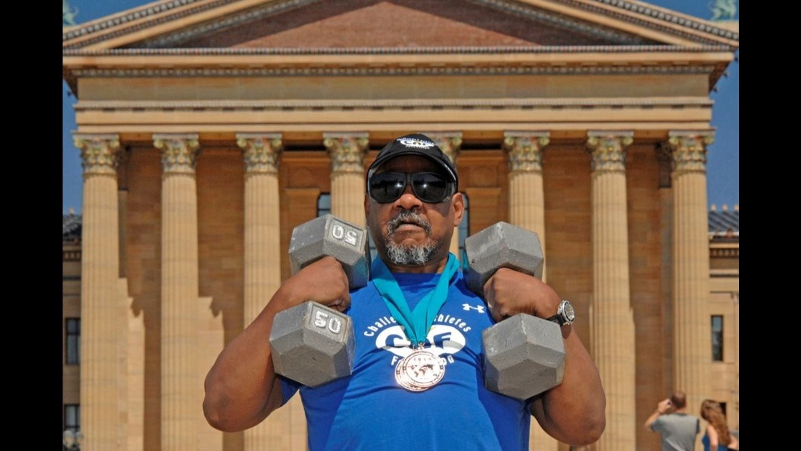 Blind ambition: Philadelphia man overcomes obstacles to become winning powerlifter