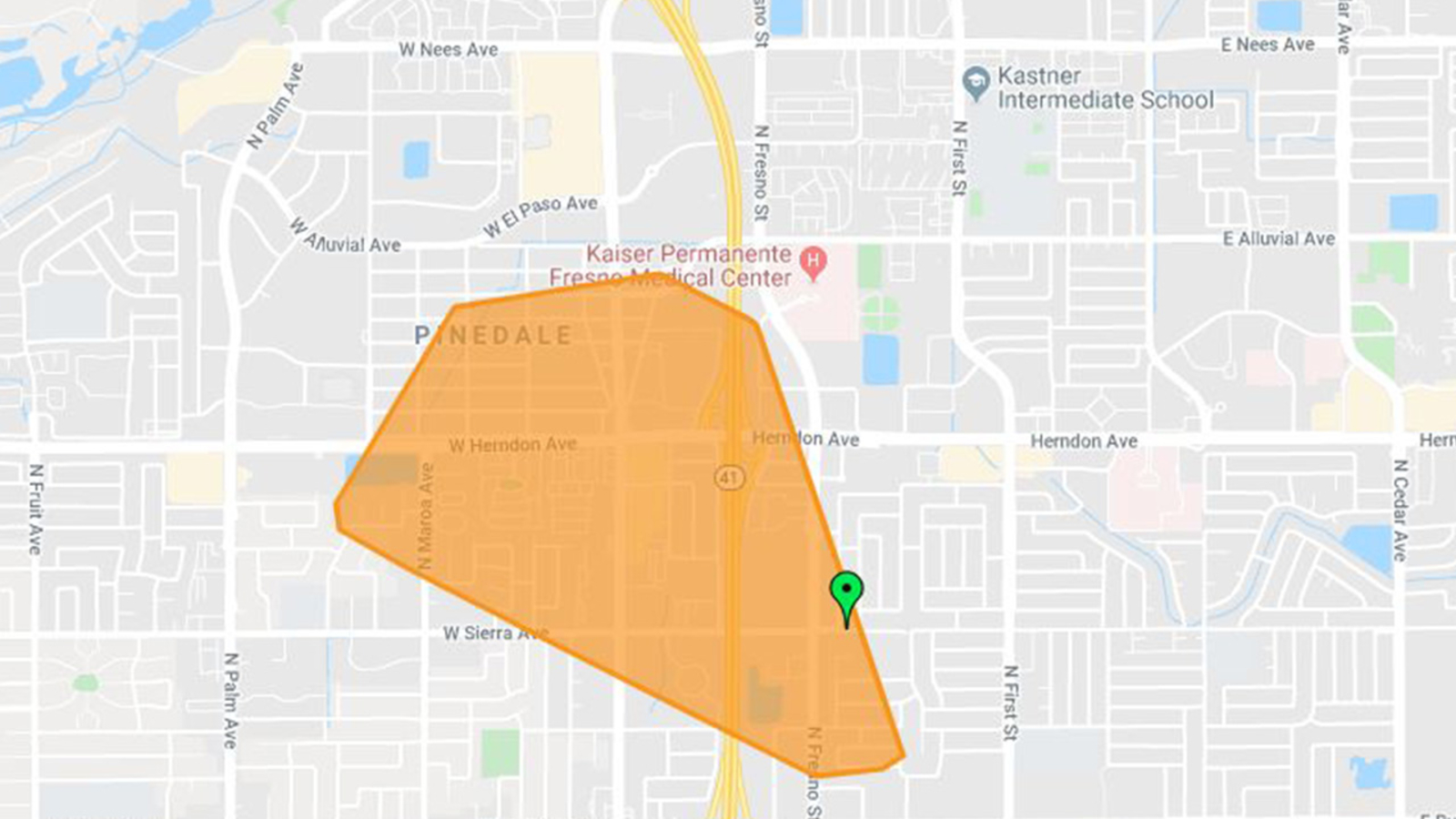 Nearly 1,500 without power in north Fresno, PG&E says