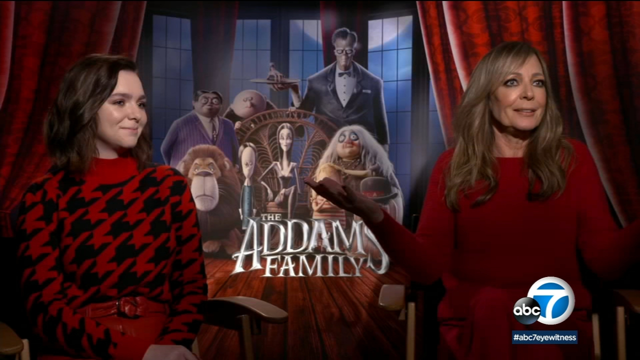 Allison Janney, Elsie Fisher help reboot animated 'The Addams Family'