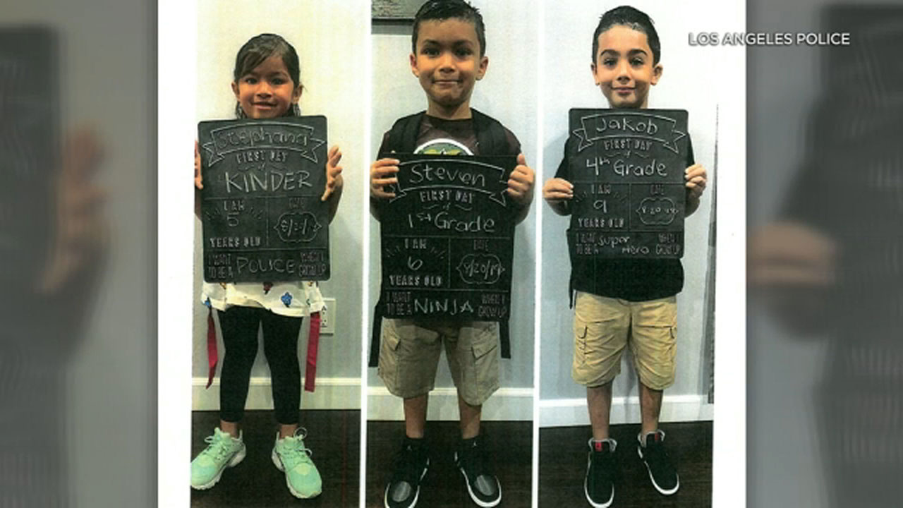 Police are looking for three children from Sylmar: Stephana Lopez, Steven Matthew Lopez and Jakob Cabrera.
