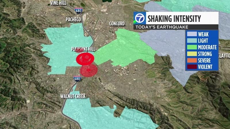 Image result for 4.5-magnitude earthquake hits near San Francisco Bay area
