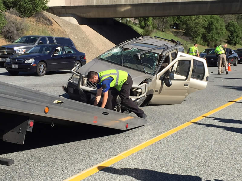 photos highspeed chase ends in rollover crash on i280