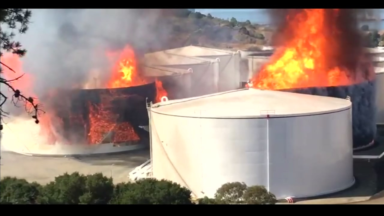 WATCH LIVE: Fire officials report incident at Rodeo refinery