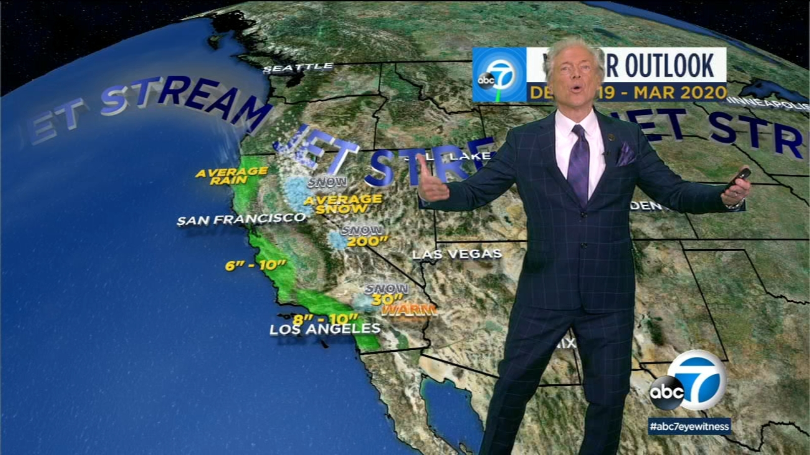 SoCal winter 2019 outlook: Region can expect less rain, warmer temps than last year