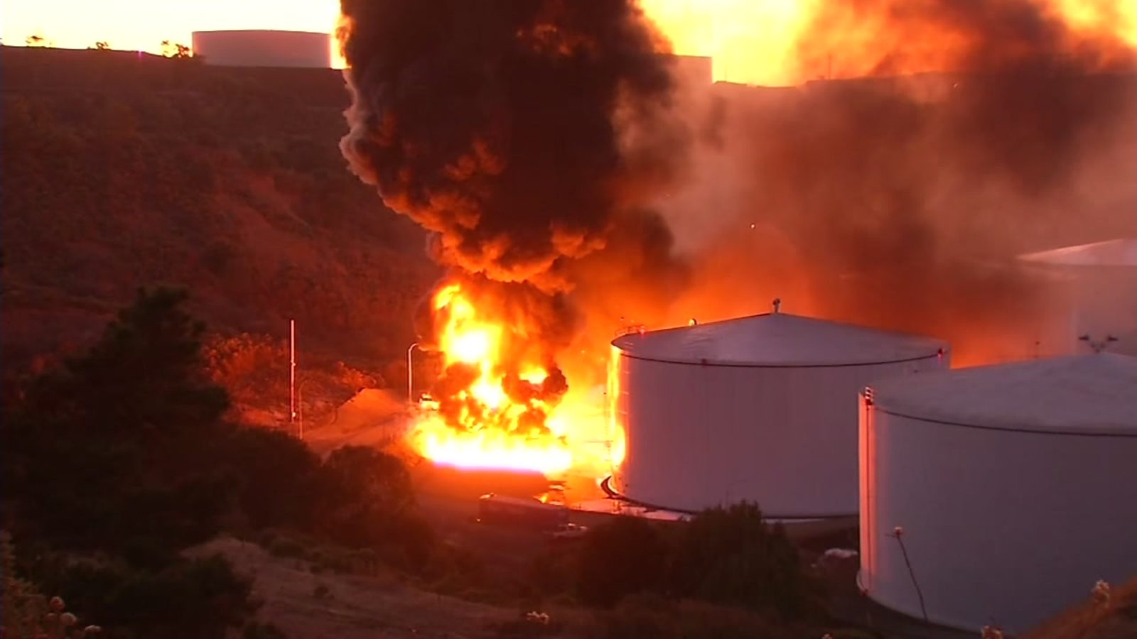Fire contained at NuStar energy facility in Crockett, cause under investigation