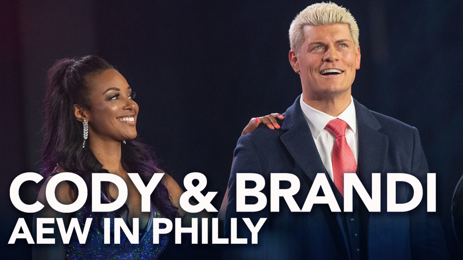 Cody, Brandi Rhodes bring AEW to Philadelphia