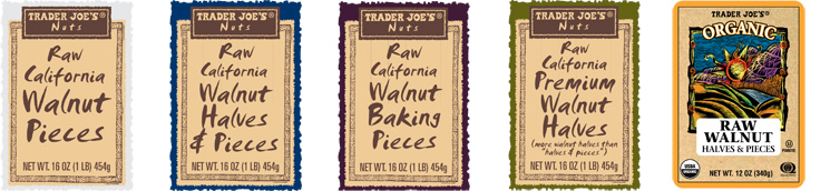 On March 17, 2015, Trader Joe's announced it's recalling packages of raw walnuts because of a possible salmonella contamination.