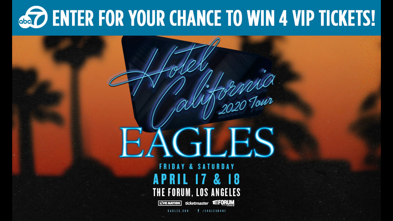 Eagles Tour 2020.Here S Your Chance To Win Vip Tickets To See The Eagles In