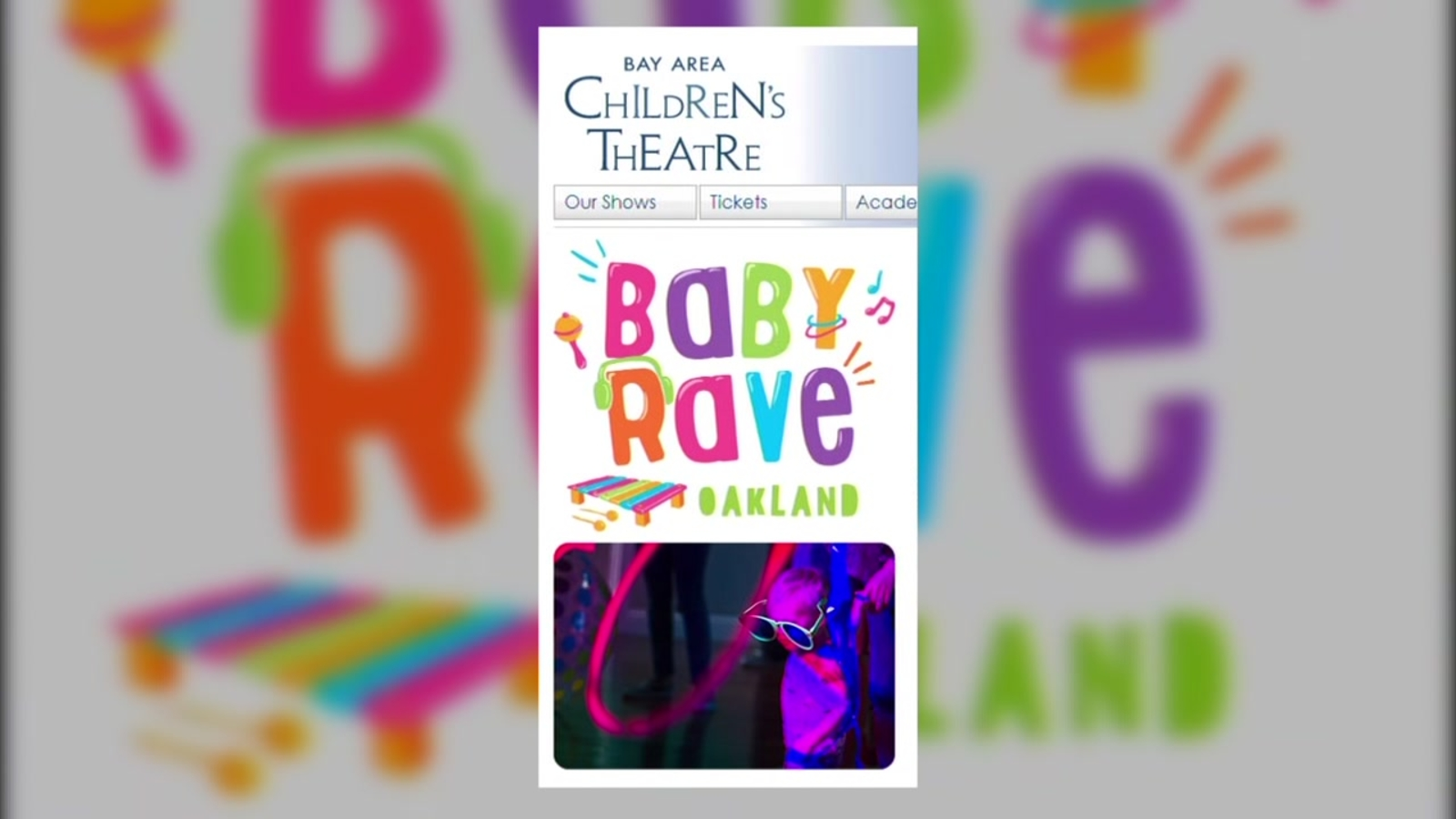 WATCH IN 60 SECONDS: Bay Area baby rave, 'Mrs. Doubtfire' the musical, bourbon-themed Airbnb