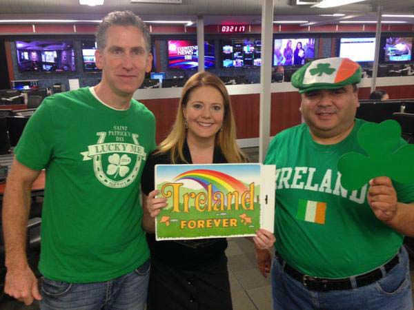 """<div class=""""meta image-caption""""><div class=""""origin-logo origin-image none""""><span>none</span></div><span class=""""caption-text"""">Some of the ABC-13 folks in green for St. Patrick's Day (KTRK Photo)</span></div>"""