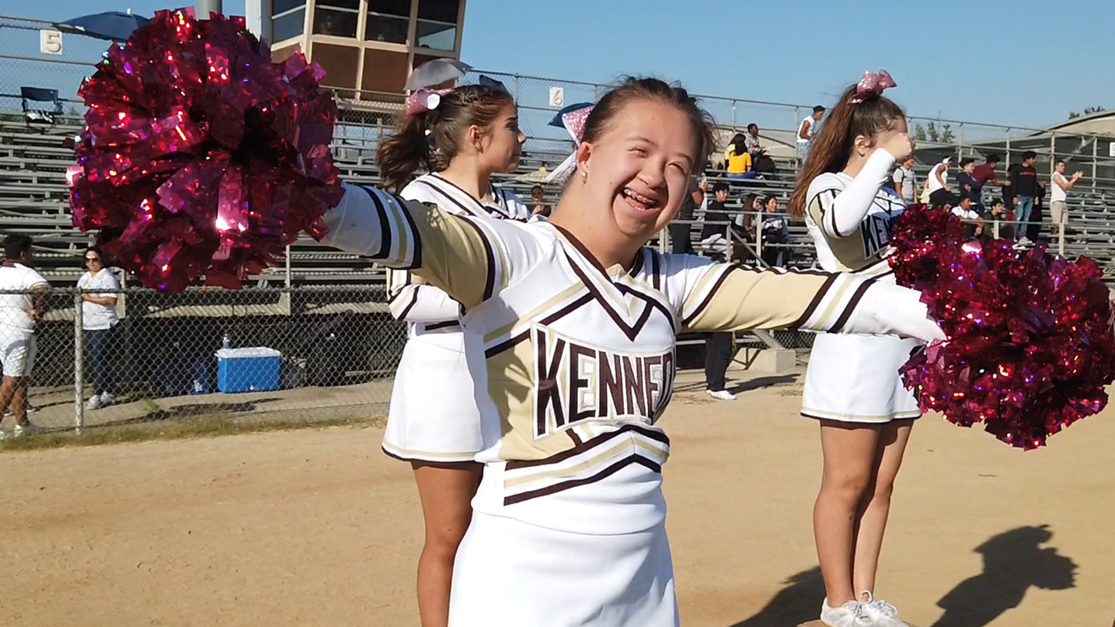 Cheerleader with Down syndrome thriving in the SFV