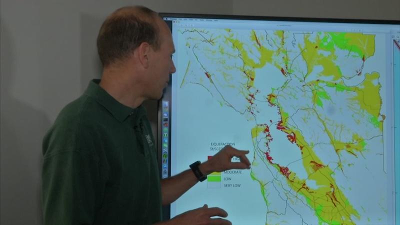 Bay Area quake hot zones identified