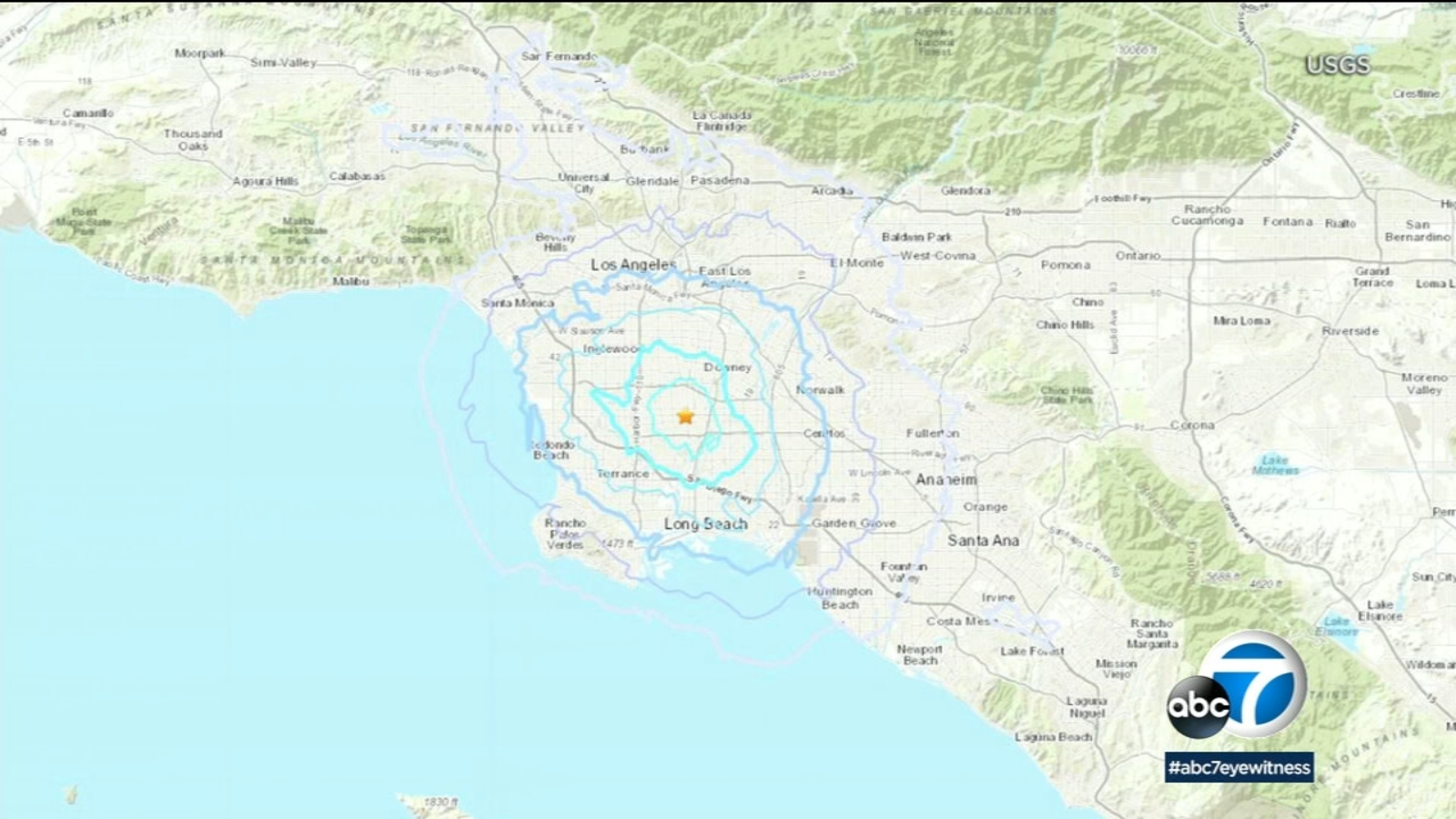 3.7-magnitude quake strikes Compton