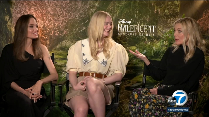 Maleficent Mistress Of Evil Cast Praises Angelina Jolie S Hands On Role As Film S Producer