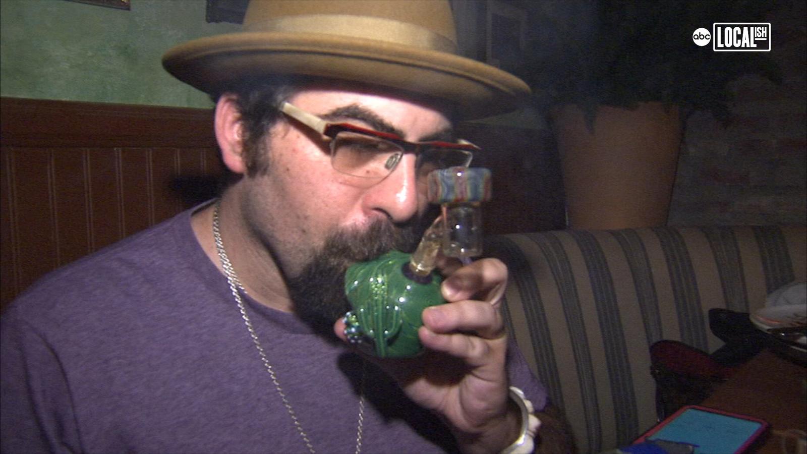 Nation's First Cannabis Cafe Opens for Business