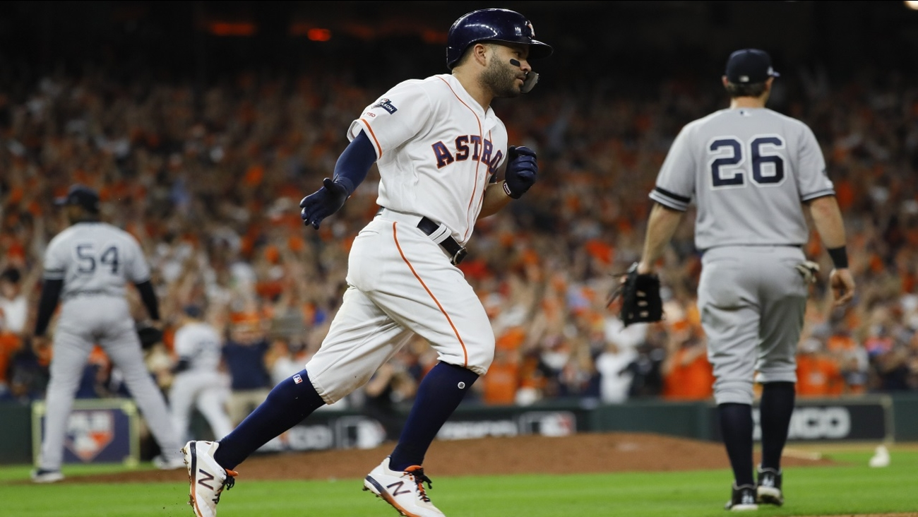 Yankees Eliminated After 6 4 Loss To Astros In Game 6 Of