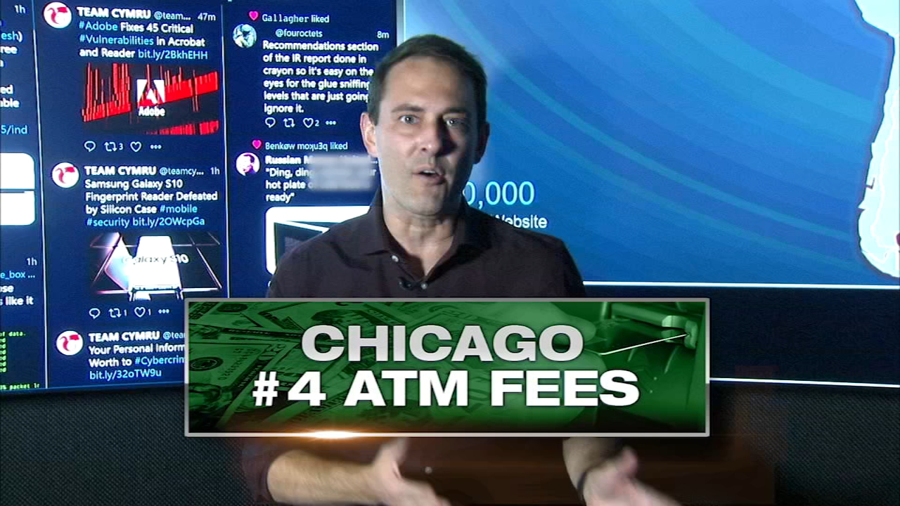 Chicago area ranks No. 4 in highest ATM fees across country