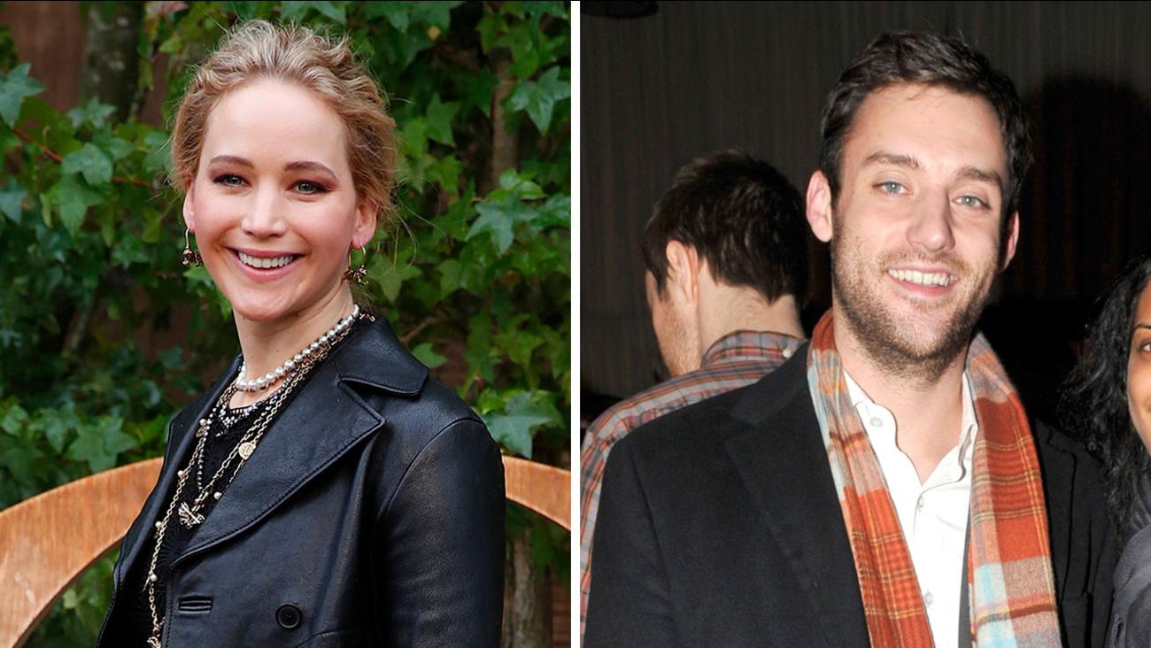 Jennifer Lawrence Wedding Actress Marries Art Dealer Cooke