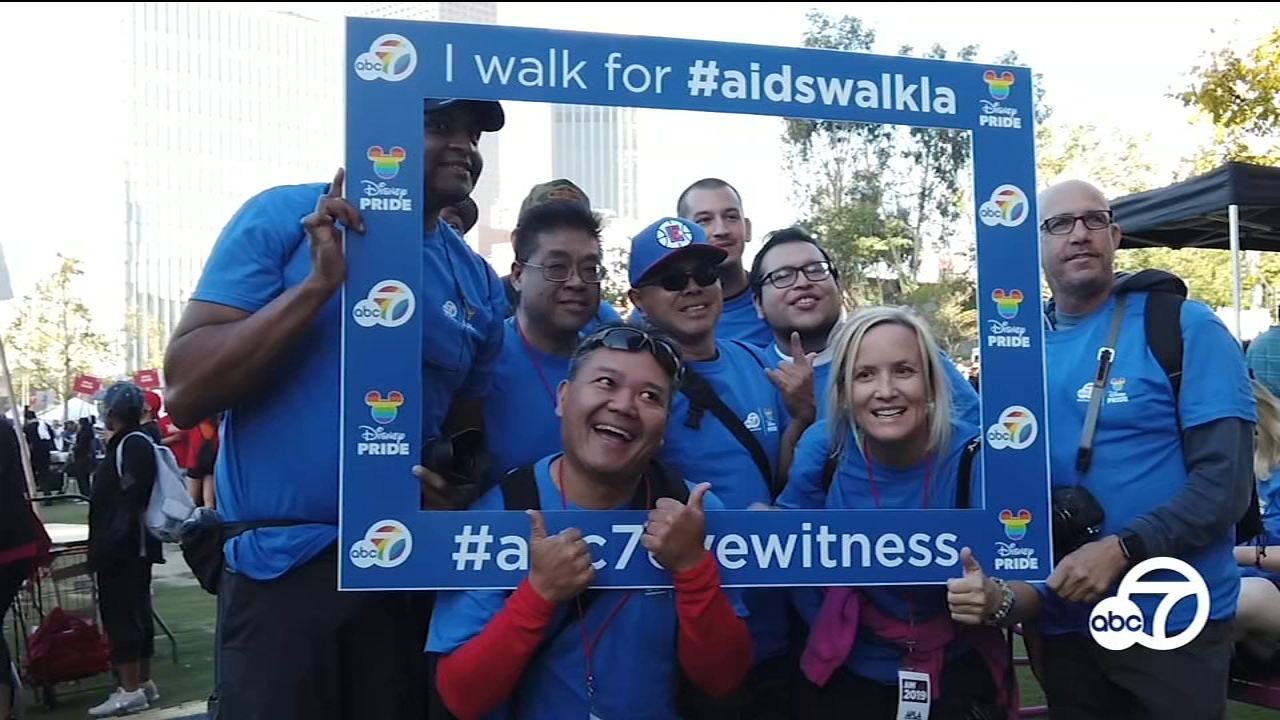 AIDS Walk LA marches to end stigma, raise awareness in its 35th year