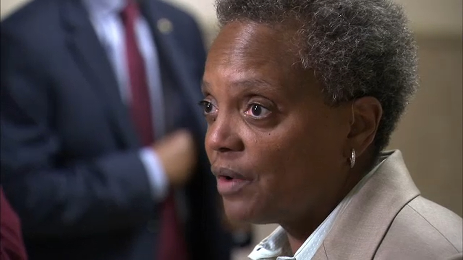 Mayor Lori Lightfoot says Chicago's property taxes will increase if Springfield doesn't act