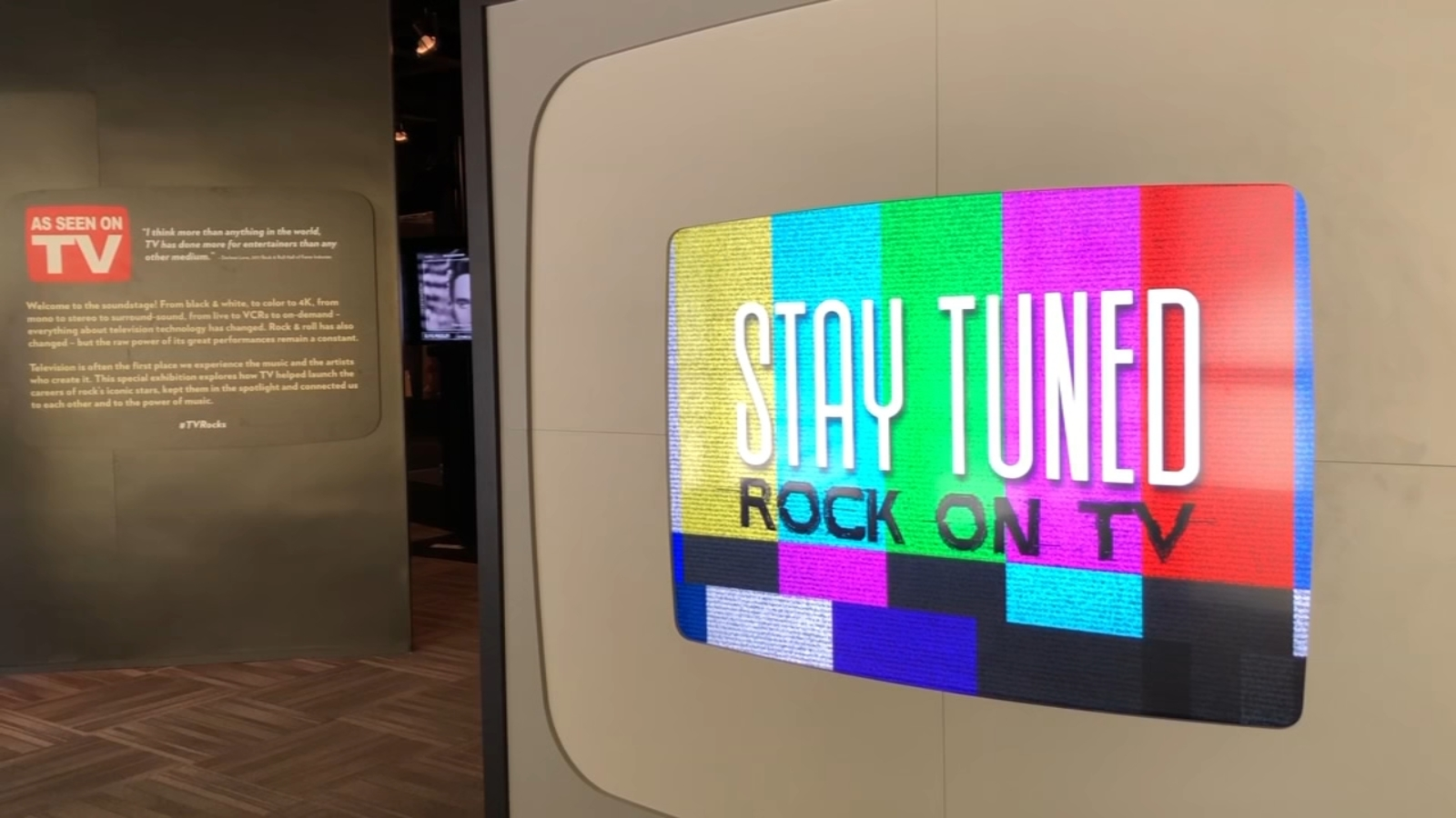 Rock and Roll Hall of Fame TV exhibit puts music history on display