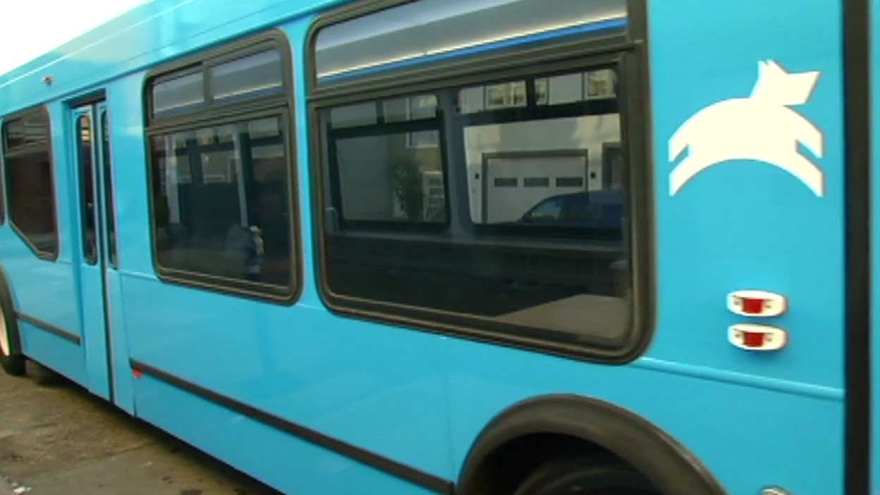 """<div class=""""meta image-caption""""><div class=""""origin-logo origin-image kgo""""><span>KGO</span></div><span class=""""caption-text"""">Leap luxury bus service will now run from San Francisco's Marina District to the downtown as seen on Wednesday, March 18, 2015. (KGO-TV)</span></div>"""