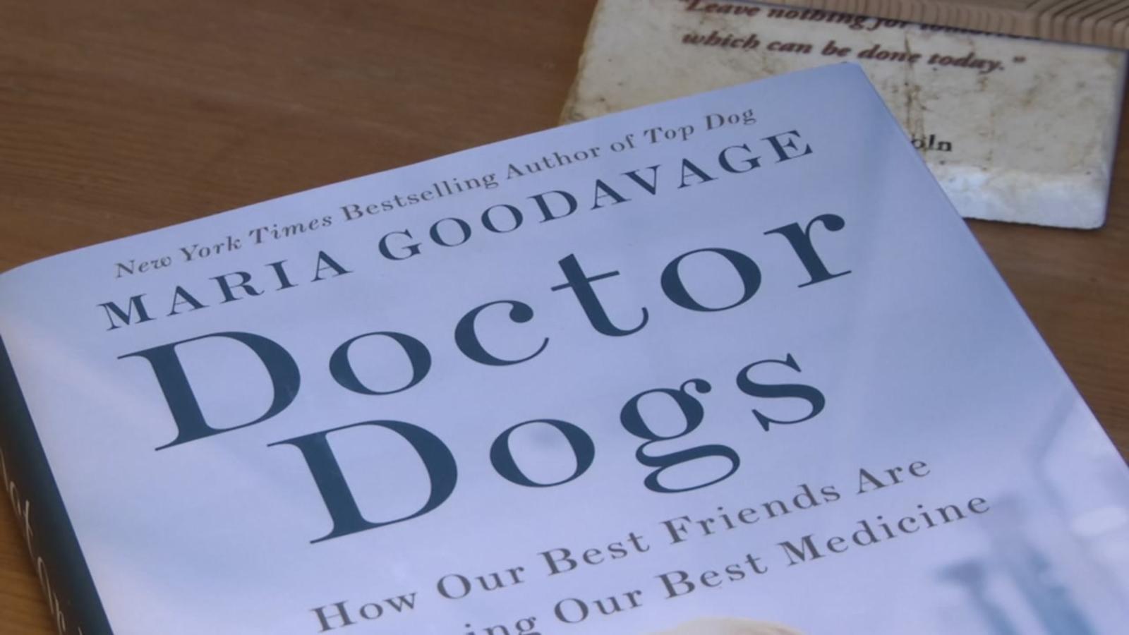 'Doctor Dogs': Book celebrates dogs in medicine