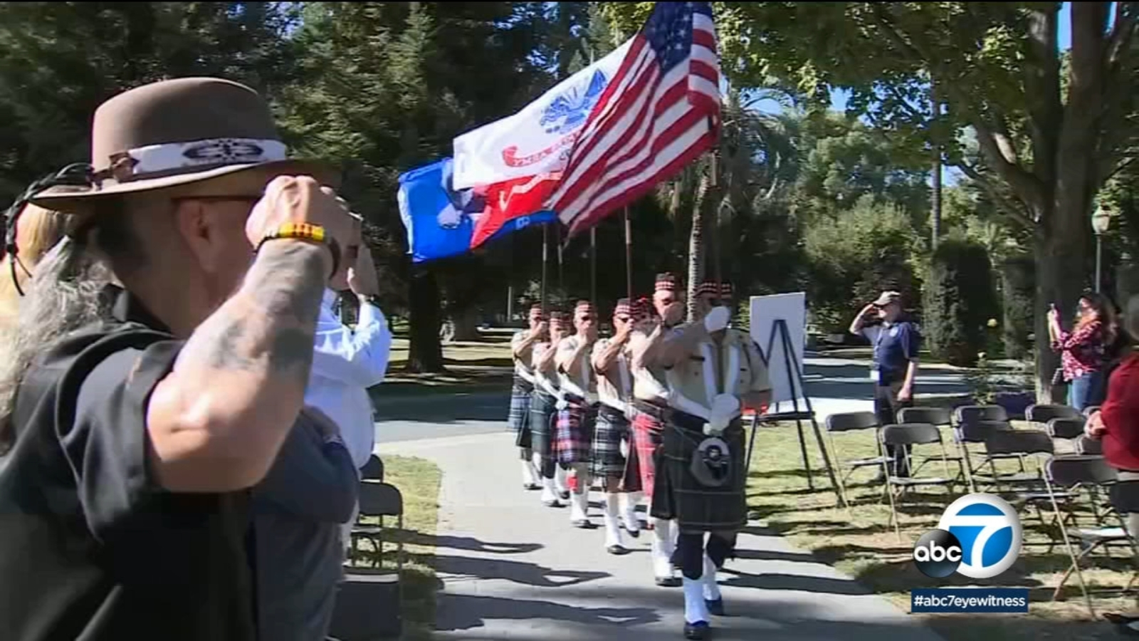 California's Vietnam veterans memorial made history as first woman was honored