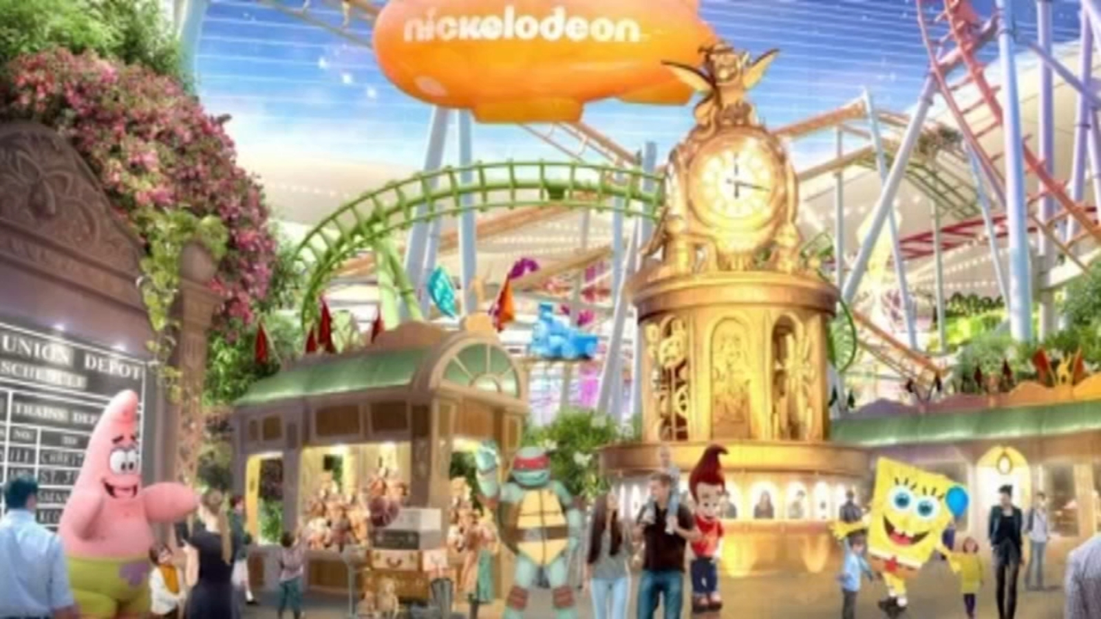 Largest indoor theme park in North America opens this week in New Jersey
