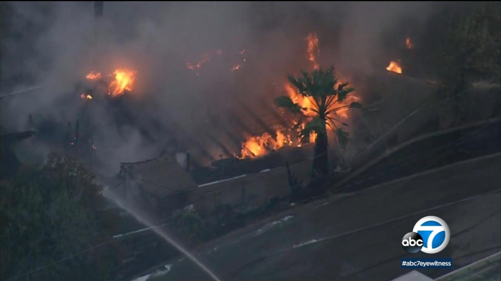 Little Mountain fire: 9 San Bernardino homes damaged as containment reaches 80 percent